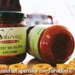 Degustazione in frantoio di patè di olive e prodotti tipici del Salento