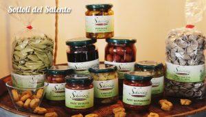 Degustazione di sottoli e prodotti tipici salentini in frantoio