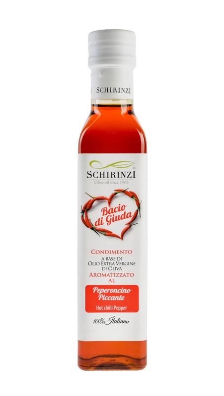 Bacio di Giuda - Olio aromatizzato al peperoncino