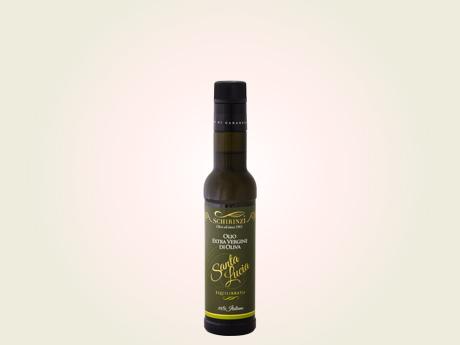 Olio extravergine di oliva equilibrato bottiglia 0,25 L antirabbocco