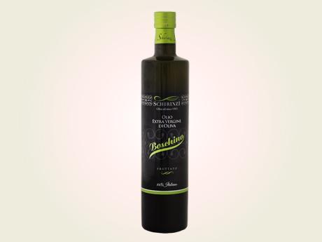 Olio Boschino bottiglia 0,75 L - monocultivar ogliarola