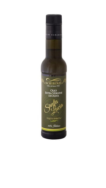 Bottiglia 0,25 L antirabbocco Olio Santa Lucia equilibrato