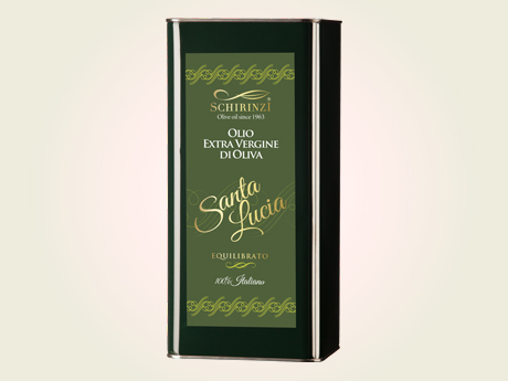 Latta 5 L olio extravergine di oliva Santa Lucia