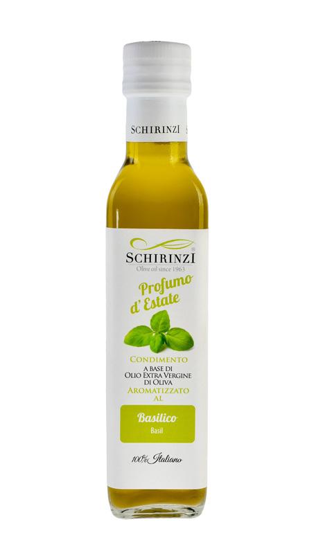 Profumo d'Estate olio aromatizzato al Basilico