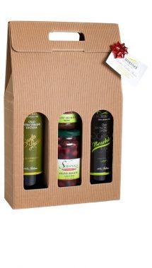 Valigetta regalo olio e prodotti tipici salentini