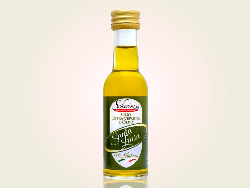 Olio extravergine di oliva equilibrato bottiglietta mignon monodose 30 ml