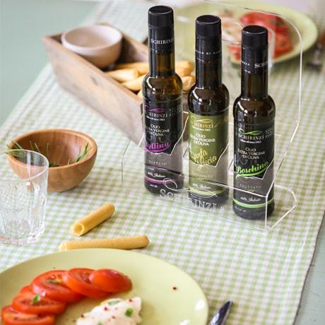 Bottigliette antirabbocco 250 ml di olio per ristoranti