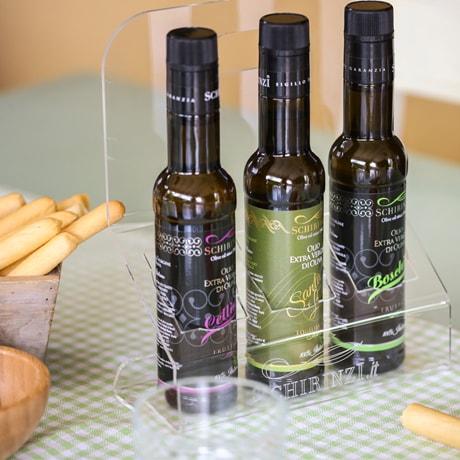 Stand oliera portabottiglie per ristoranti