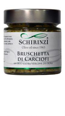 Bruschetta di Carciofi in olio extravergine del Salento
