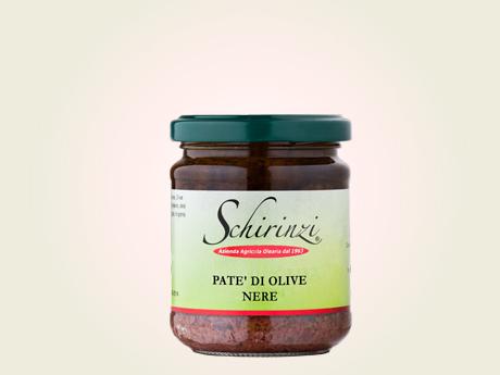 Pate di olive nere salentine leccine e celline