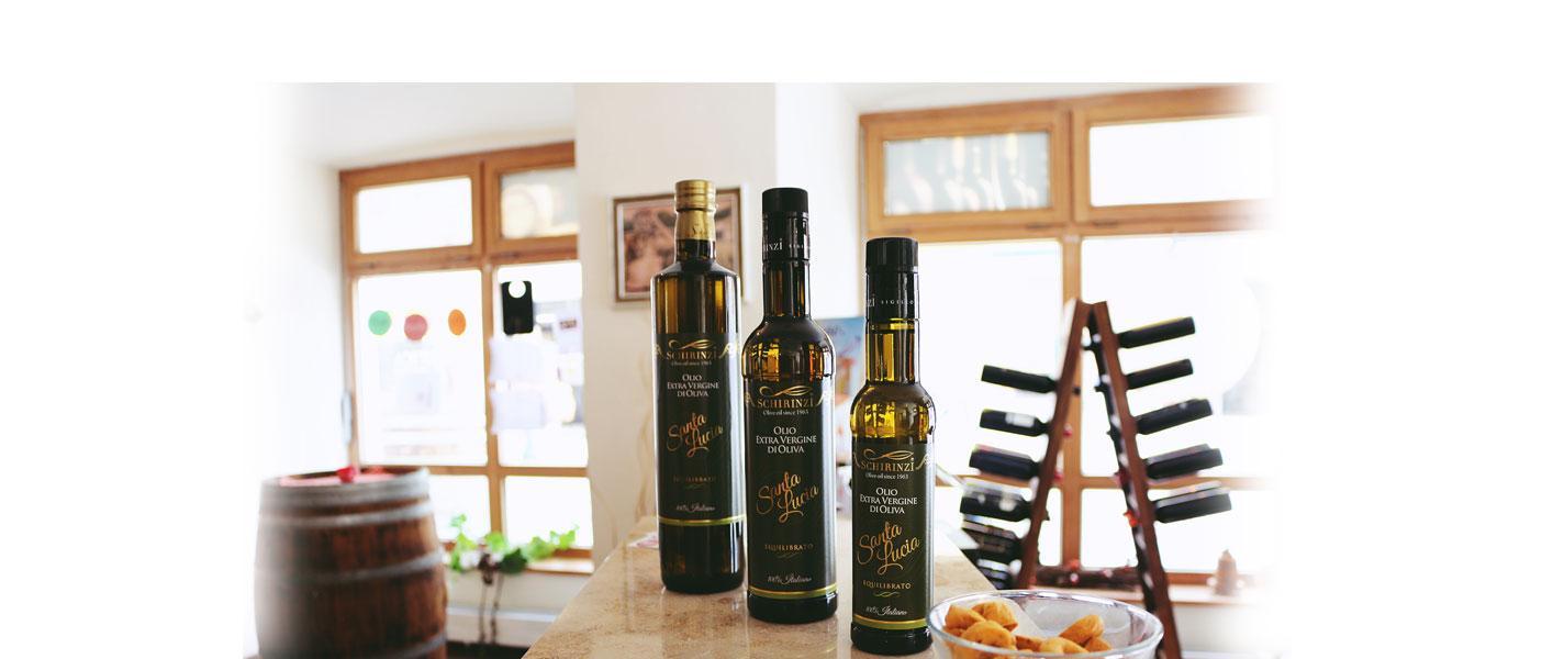 Bottiglie olio extravergine pugliese