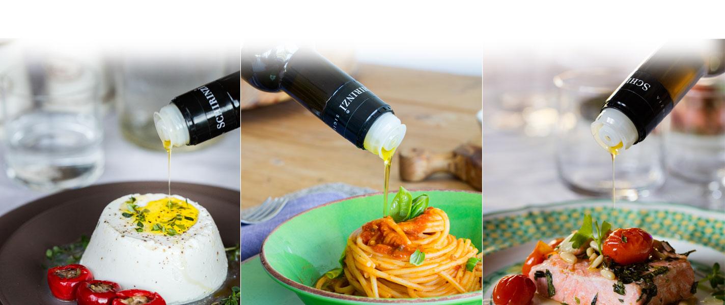 Condire i piatti con olio della Puglia