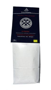 Farina biologica grano duro Saragolla Turchesco del Salento