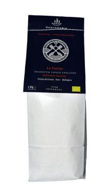 Farina integrale bio grano duro Italiano pugliese