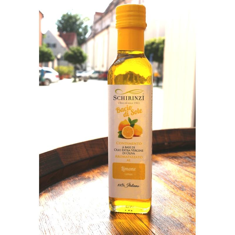 Olio aromatizzato al limone - Bacio di Sole