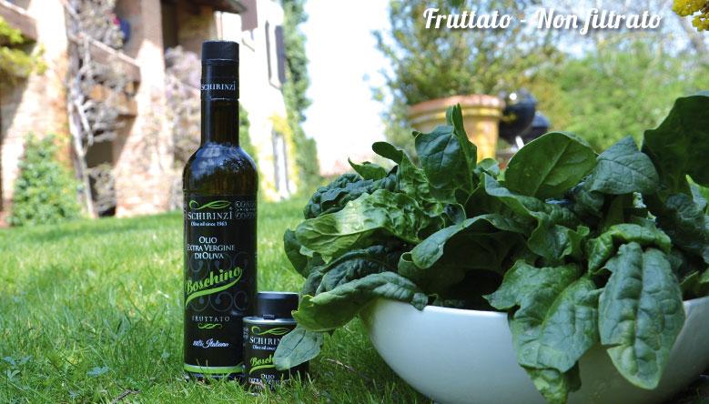 Bottiglie di olio di oliva per una corretta conservazione