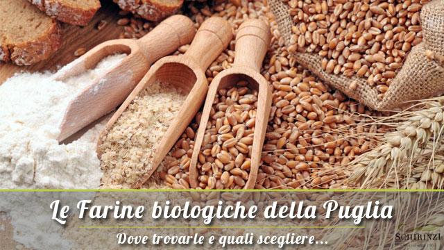 Le Farine Biologiche pugliesi: dove trovarle e quali scegliere