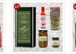 Kit assaggio da degustazione di olio evo e prodotti tipici salentini