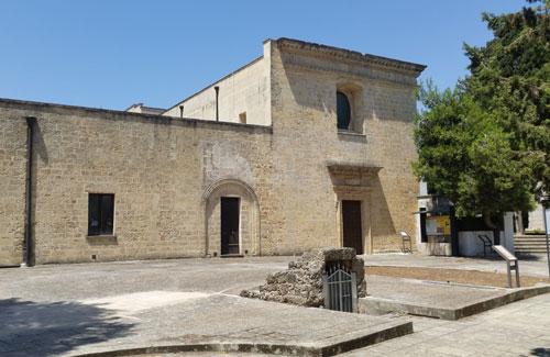 Cripta della Favana a Veglie nel Salento