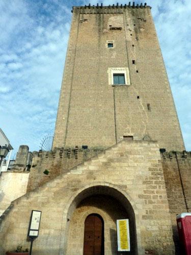 La Torre Federiciana a Leverano, nel Salento