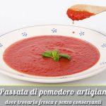 La passata di pomodoro artigianale del Salento rossa e gialla: Schirinzi