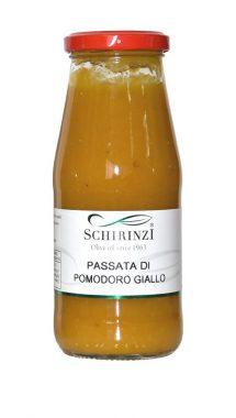 Passata di pomodoro gialla artigianale del Salento