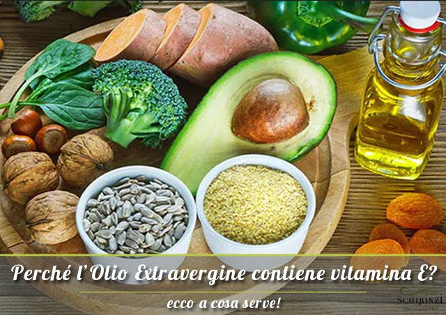 Ecco perchè l'olio extravergine contiene vitamina E