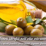 Polifenoli idrofili nell'olio extravergine: Acidi e alcoli fenolici, secoridoidi, lignani, flavonoidi