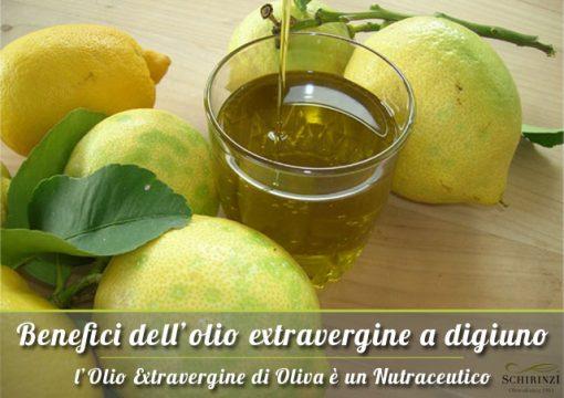 Benefici dell'olio extravergine consumato a digiuno