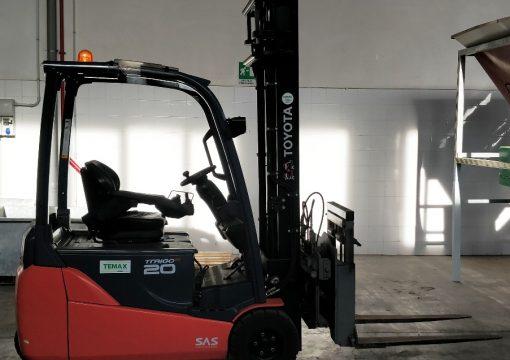 Vendita Carrello elevatore Toyota elettrico nuovissimo 20 QL
