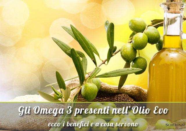 Omega 3 presenti nell'olio extravergine di oliva, ecco i benefici