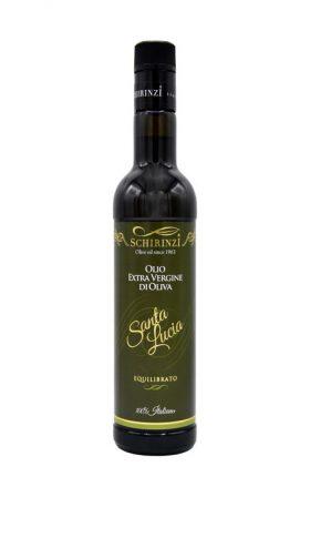 Bottiglia 0,50 L antirabbocco Olio Santa Lucia equilibrato