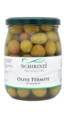 Olive verdi Termite di Bitetto in salamoia del Salento