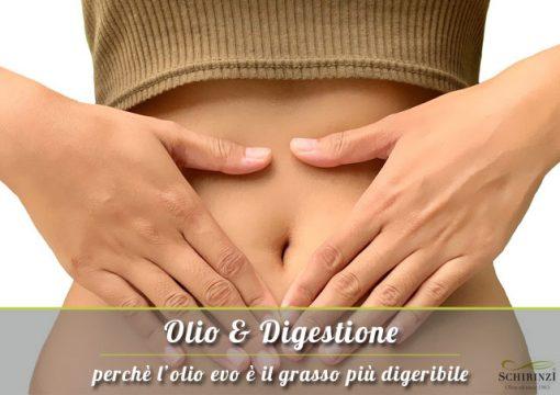 Perché l'Olio Extravergine più digeribile rispetto agli altri grassi saturi ed insaturi?