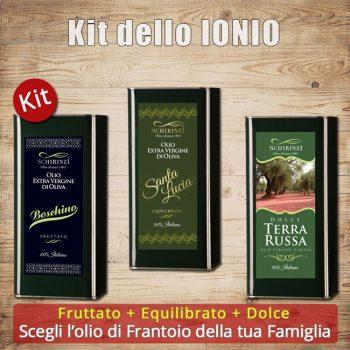 Kit assaggio da degustazione olio extravergine del Salento