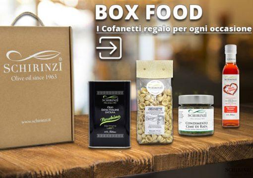 Ecco i Cofanetti regalo di olio e prodotti tipici pugliesi per fare un regalo originale!
