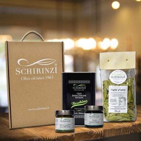 Cofanetto Regalo Box Polignano: olio e prodotti tipici pugliesi