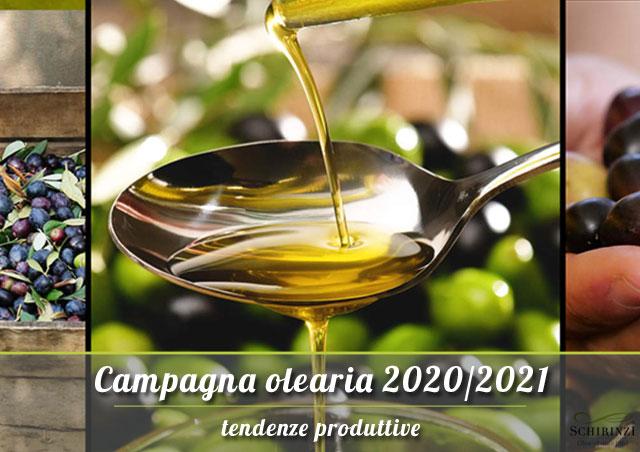 Campagna olearia 2020/2021 e tendenze produttive